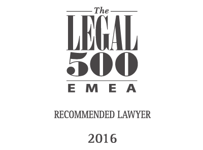 Recommended Lawyer 2016